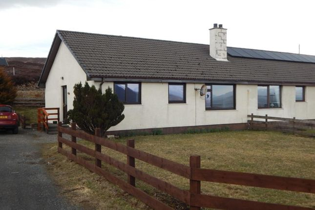 Thumbnail Semi-detached bungalow for sale in Achachork, Portree, Isle Of Skye