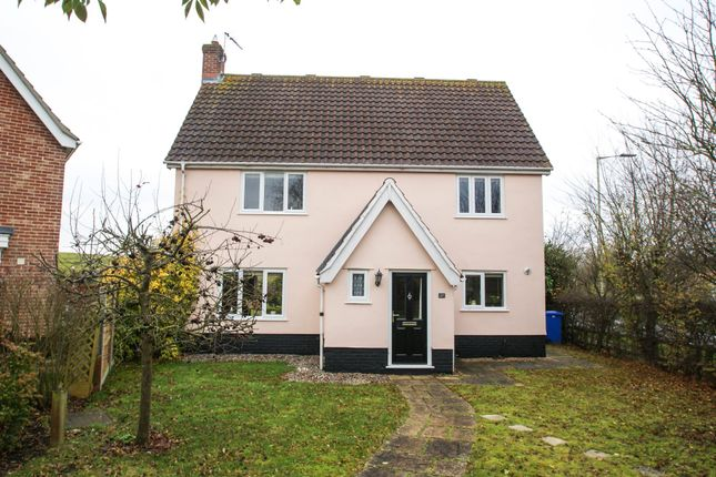 Thumbnail Detached house for sale in Roman Way, Halesworth