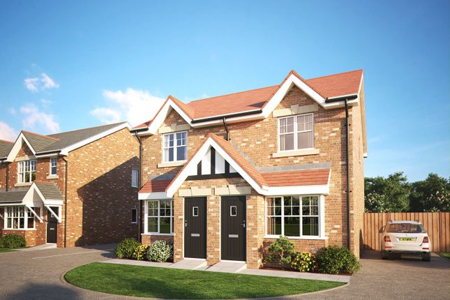 2 bedroom semi-detached house for sale in Thorne Meadows, Great Ecclestone