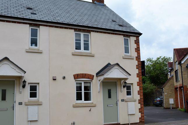 Thumbnail End terrace house to rent in Coles Close, Wincanton