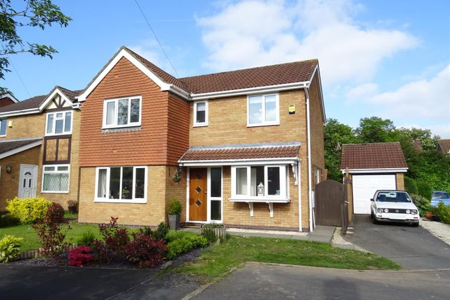 Thumbnail Detached house for sale in Aspen Close, Ravenstone, Leicestershire