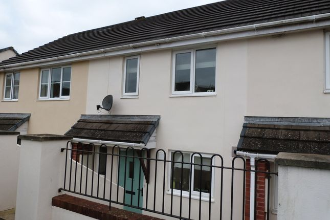 Thumbnail Terraced house to rent in Eastridge View, Bideford