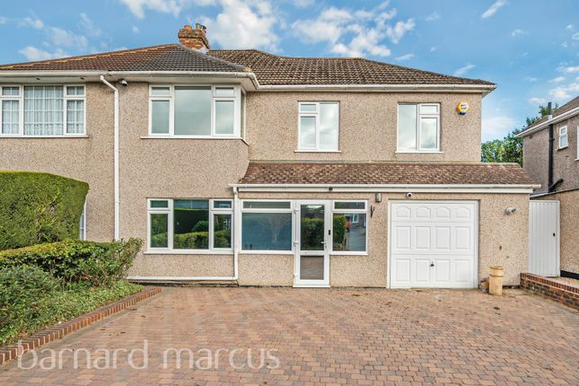 Thumbnail Semi-detached house for sale in Limpsfield Road, Warlingham