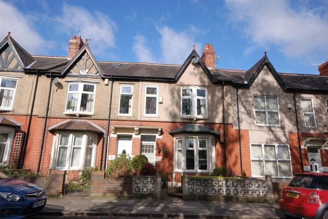 Thumbnail Terraced house for sale in Ilford Road, High West Jesmond, Newcastle Upon Tyne