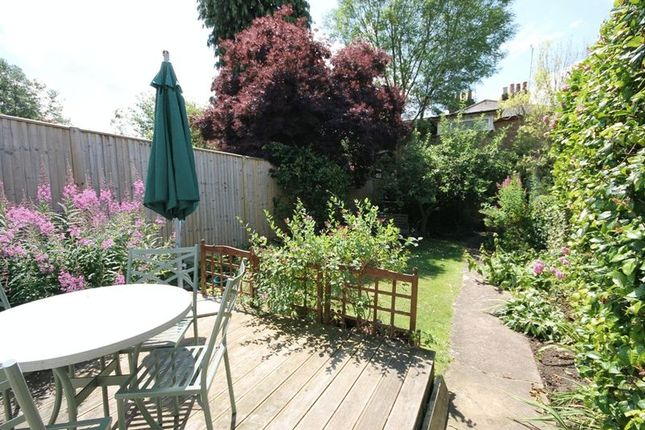 Rear Garden of Reigate Road, Leatherhead KT22