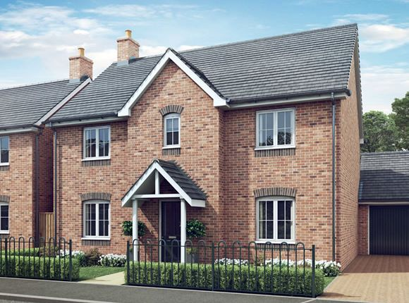 Thumbnail Detached house for sale in The Chestnut, Kings Street, Yoxall, Staffordshire