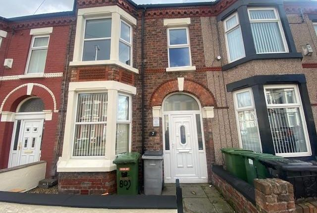 Thumbnail Property to rent in Rappart Road, Wallasey