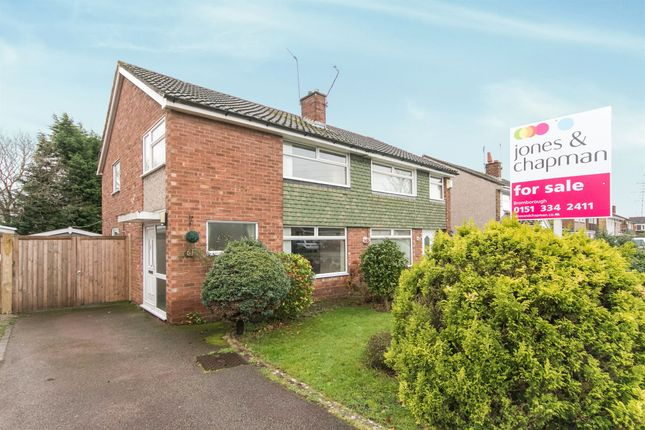 Thumbnail Semi-detached house for sale in Sutherland Drive, Bromborough, Wirral