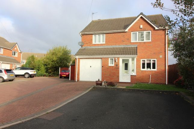 Thumbnail Detached house for sale in The Coppice, Willenhall