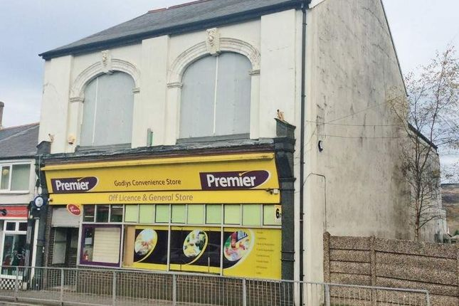 Thumbnail Retail premises for sale in 68 - 69 Gadlys Road, Aberdare