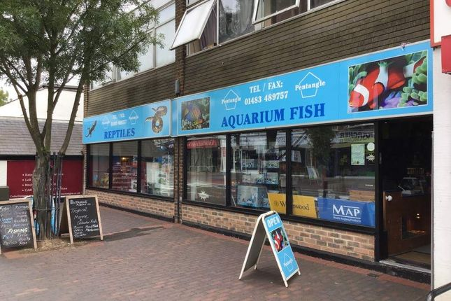 Thumbnail Retail premises for sale in High Street, Knaphill, Woking