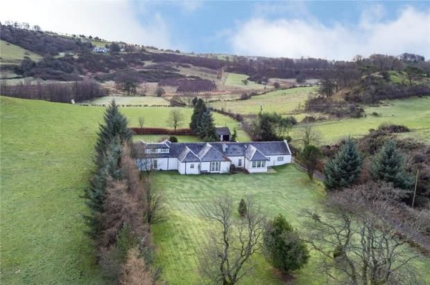 Thumbnail Detached house for sale in Badmany House And Cottage, By Beith, Ayrshire