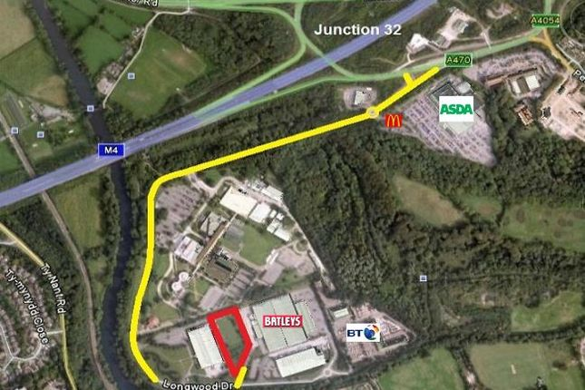 Thumbnail Land for sale in Longwood Drive, Forest Farm, Cardiff, 7Hy, Cardiff