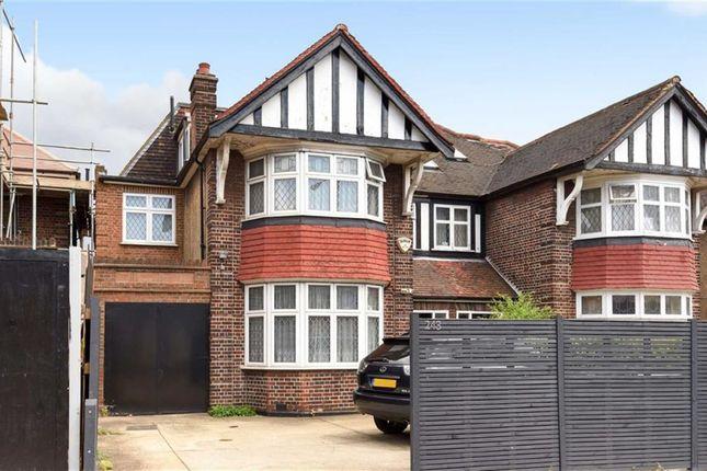 Thumbnail Semi-detached house for sale in Chamberlayne Road, Kensal Rise, London
