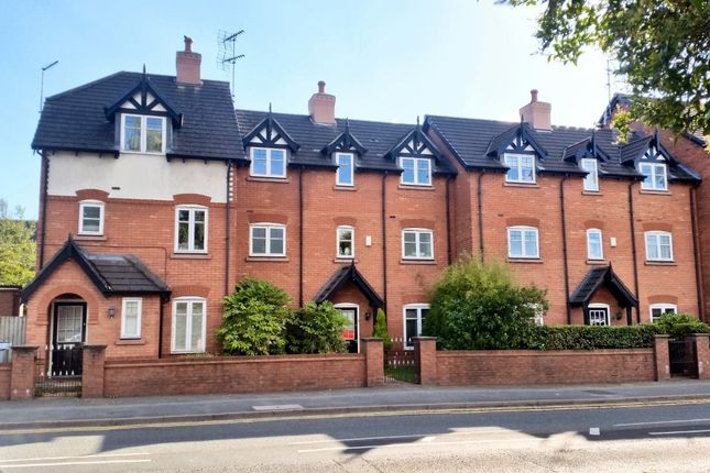 Thumbnail Town house to rent in London Road, Nantwich