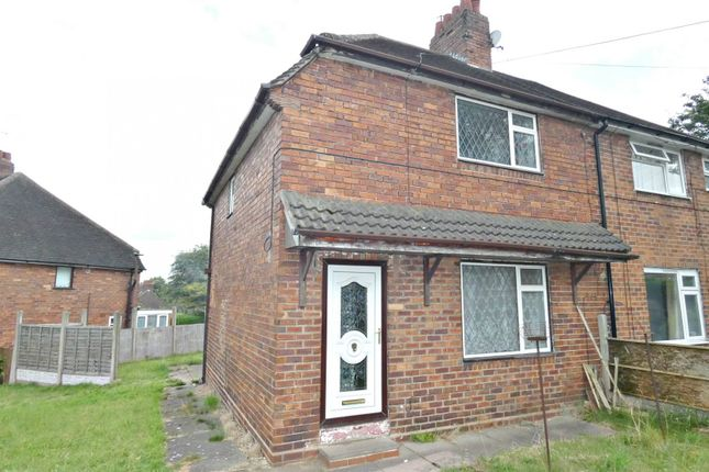 Thumbnail Semi-detached house to rent in St. Martins Road, Newcastle-Under-Lyme