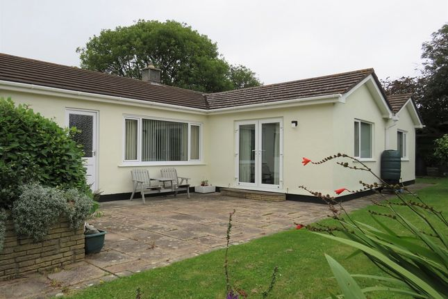 Thumbnail Detached bungalow for sale in Packet Lane, Rosudgeon, Penzance, Cornwall.