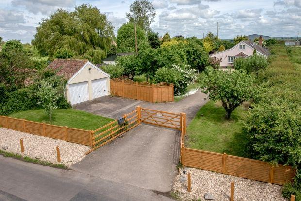 Thumbnail Detached house for sale in Saltmoor, Burrowbridge, Bridgwater