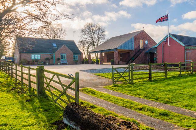 Thumbnail Farmhouse for sale in Peartree Field Lane, Wentbridge, Pontefract