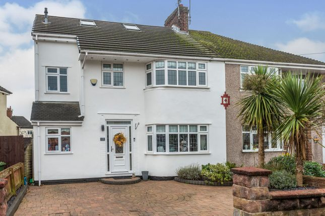 Thumbnail Semi-detached house for sale in Larchwood Avenue, Maghull, Liverpool