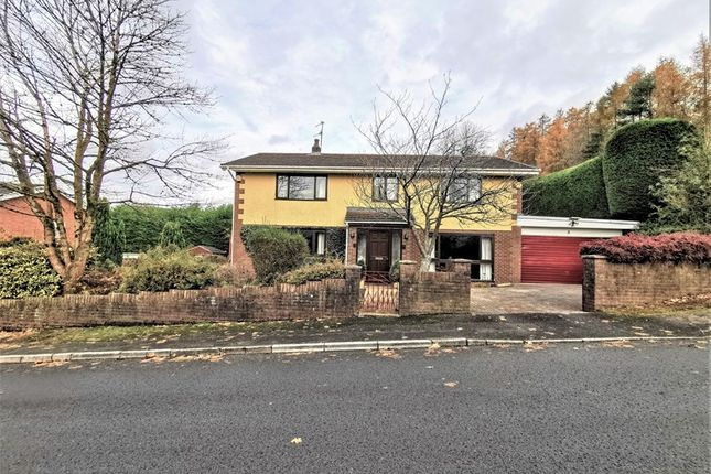 Thumbnail Detached house for sale in Lakeside Gardens, Merthyr Tydfil, Mid Glamorgan