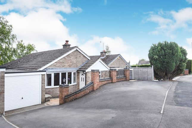 Thumbnail Detached bungalow for sale in Greenway, Hulland Ward, Ashbourne