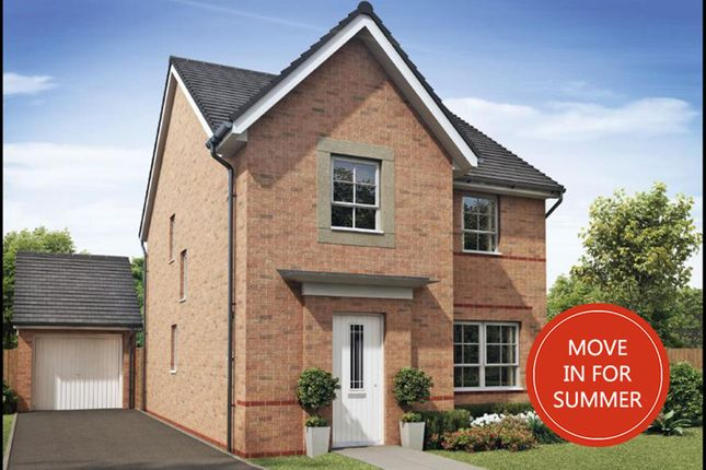 "Thumbnail Detached house for sale in ""Kingsley"" at Morgan Drive, Whitworth, Spennymoor"