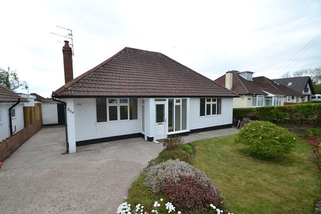 Thumbnail Detached bungalow to rent in Pantbach Road, Rhiwbina, Cardiff.