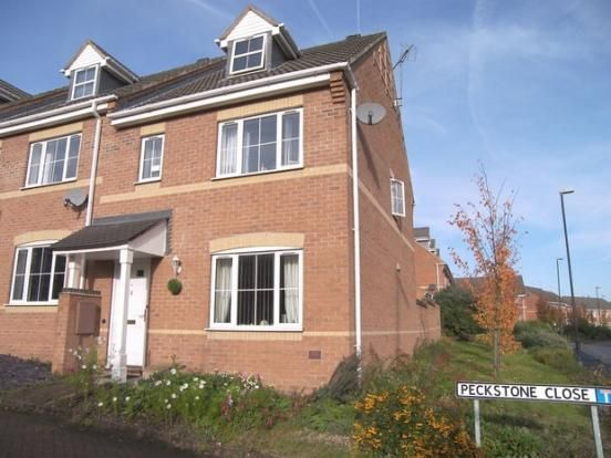 Thumbnail Town house to rent in Peckstone Close, Coventry