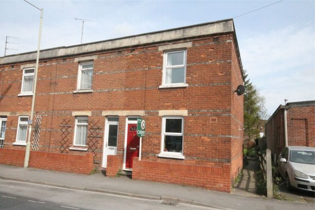 Thumbnail End terrace house for sale in Boundary Road, Newbury