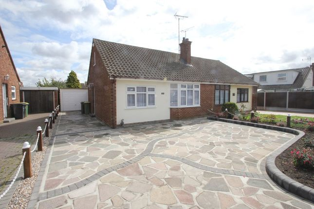 Thumbnail Semi-detached bungalow for sale in Parklands, Ashingdon, Rochford