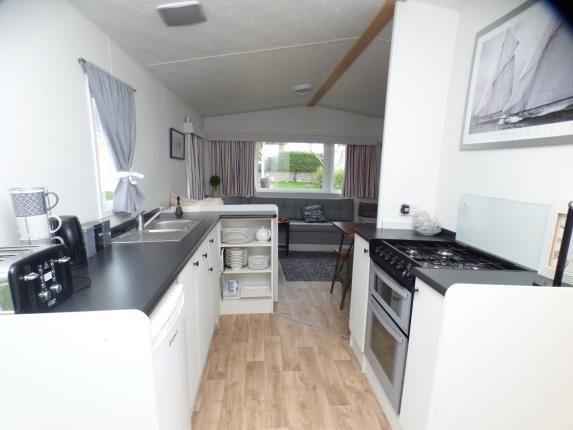 Kitchen of Plas Coch Holiday Park, Llanddaniel, Anglesey, North Wales LL61