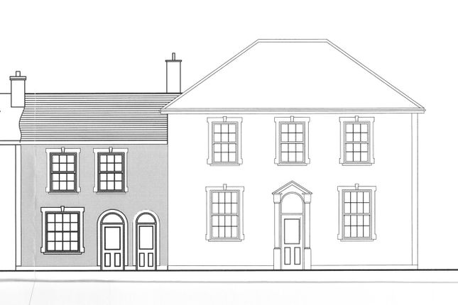 Thumbnail Town house for sale in North Road, Aberaeron