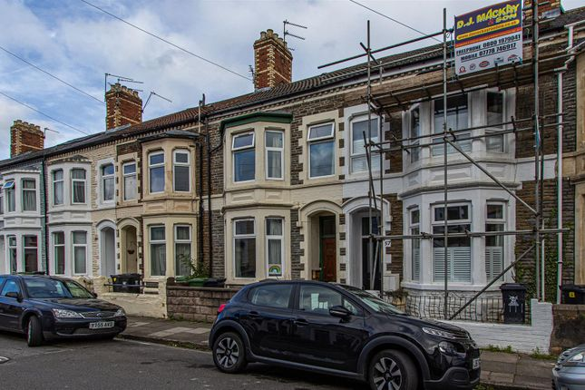 Thumbnail Terraced house to rent in Alexandra Road, Canton, Cardiff