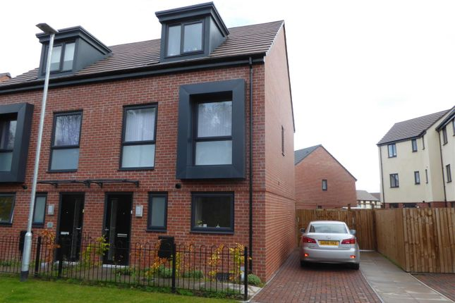 Thumbnail Semi-detached house to rent in Jockey Road, Donnington, Telford