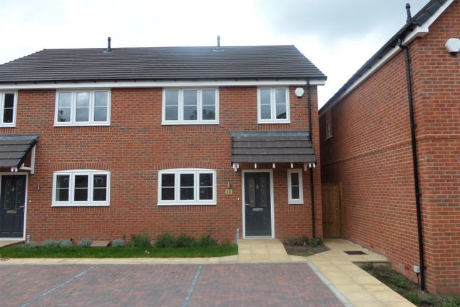 Thumbnail Semi-detached house for sale in Greyhound Close, Off Boney Hay Road, Burntwood
