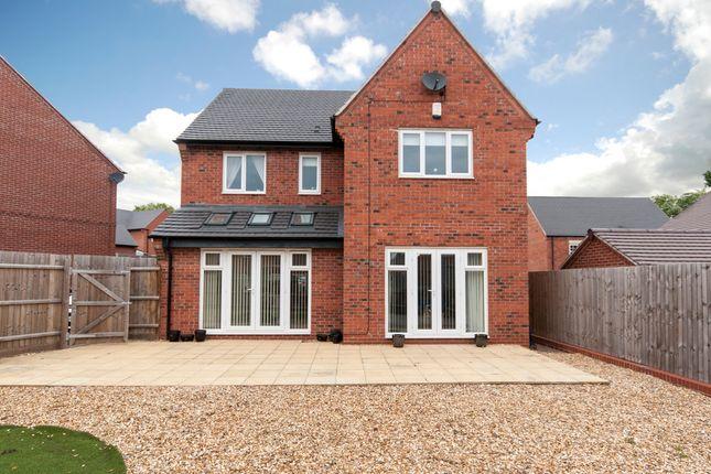 Thumbnail Detached house for sale in Wellington Court, Castle Donington, Derby