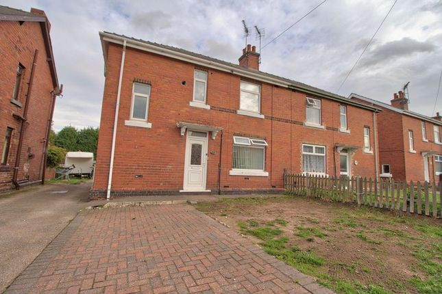 Thumbnail Semi-detached house for sale in Whinney Lane, Ollerton, Newark