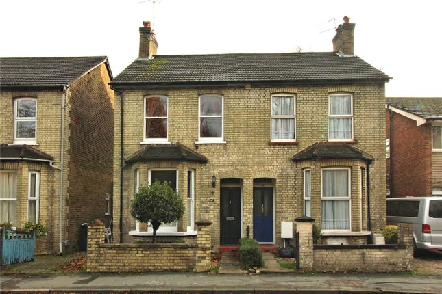 Thumbnail Semi-detached house for sale in Maybury, Woking, Surrey