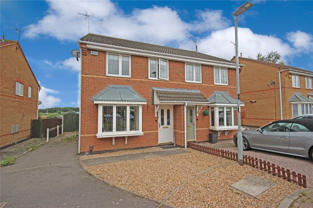 Thumbnail Semi-detached house to rent in Priestman Road, Thorpe Astley, Braunstone, Leicester