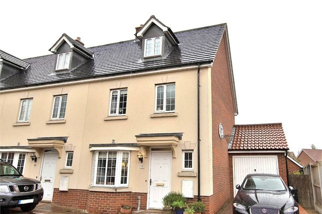 Thumbnail End terrace house for sale in Flitch Green, Dunmow, Essex