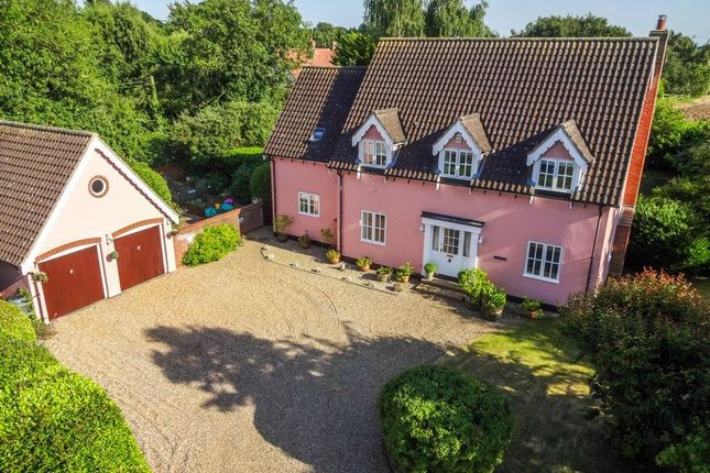 Thumbnail Detached house for sale in Talbots Meadow, Stuston, Diss, Norfolk