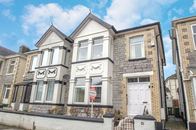 Thumbnail Semi-detached house for sale in Beaconfield Road, Plymouth