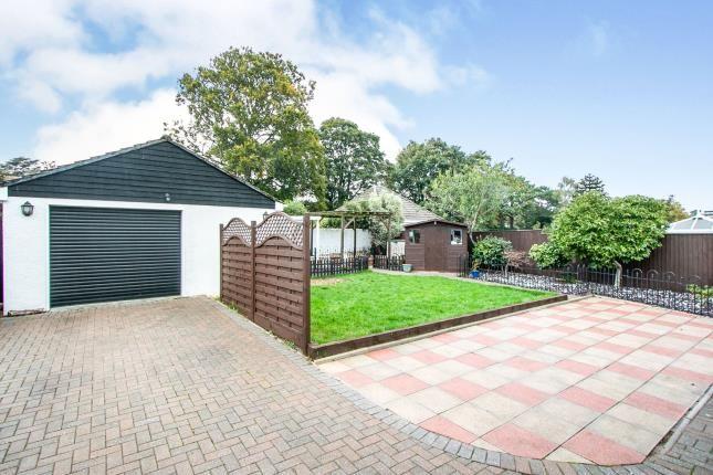Garden of Manor Avenue, Parkstone, Poole BH12