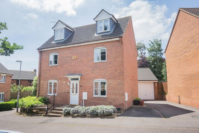 Thumbnail Detached house for sale in Glovers Close, Irthlingborough, Wellingborough