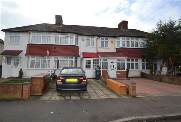 Thumbnail Terraced house for sale in Byward Avenue, Feltham