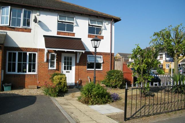 Thumbnail Semi-detached house to rent in Pemberley Chase, West Ewell, Epsom