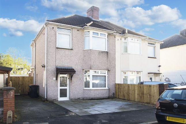 3 bed semi-detached house for sale in Pant Road, Newport