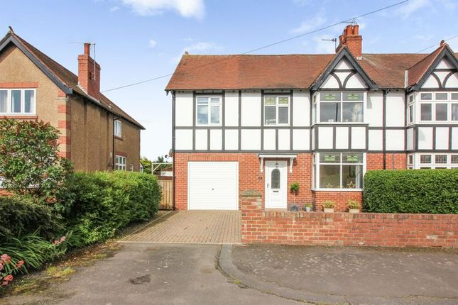 Thumbnail Semi-detached house for sale in North Road, Ponteland, Newcastle Upon Tyne