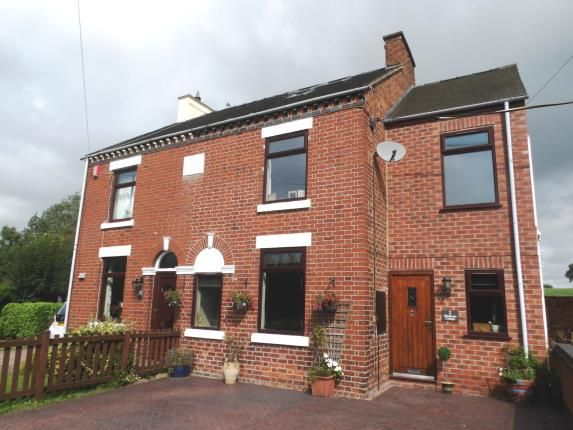 Thumbnail Semi-detached house for sale in Gladstone Cottages, Alsager Road, Hassall, Sandbach